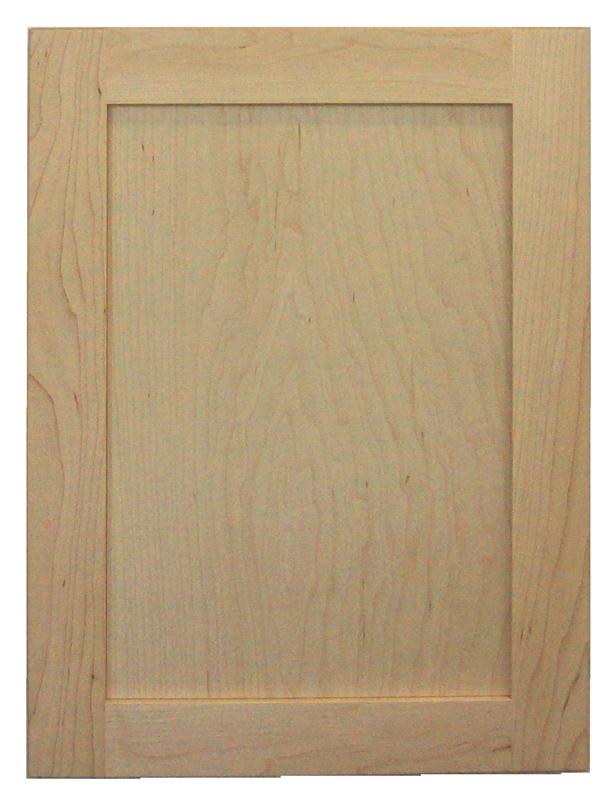 maple raw door