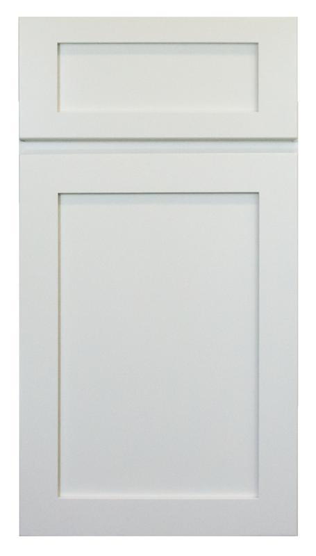 Porcelain White Shaker Cabinet Door