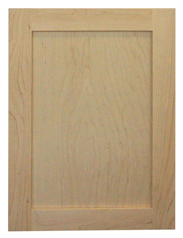 maple raw door