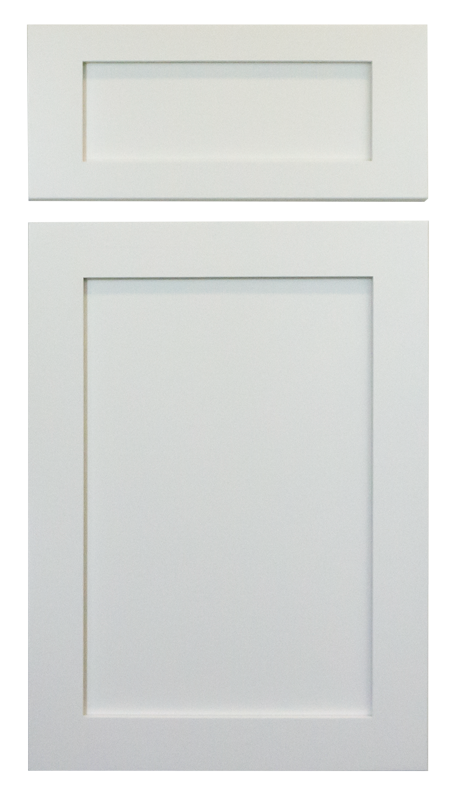 Porcelain White Shaker Cabinet Door