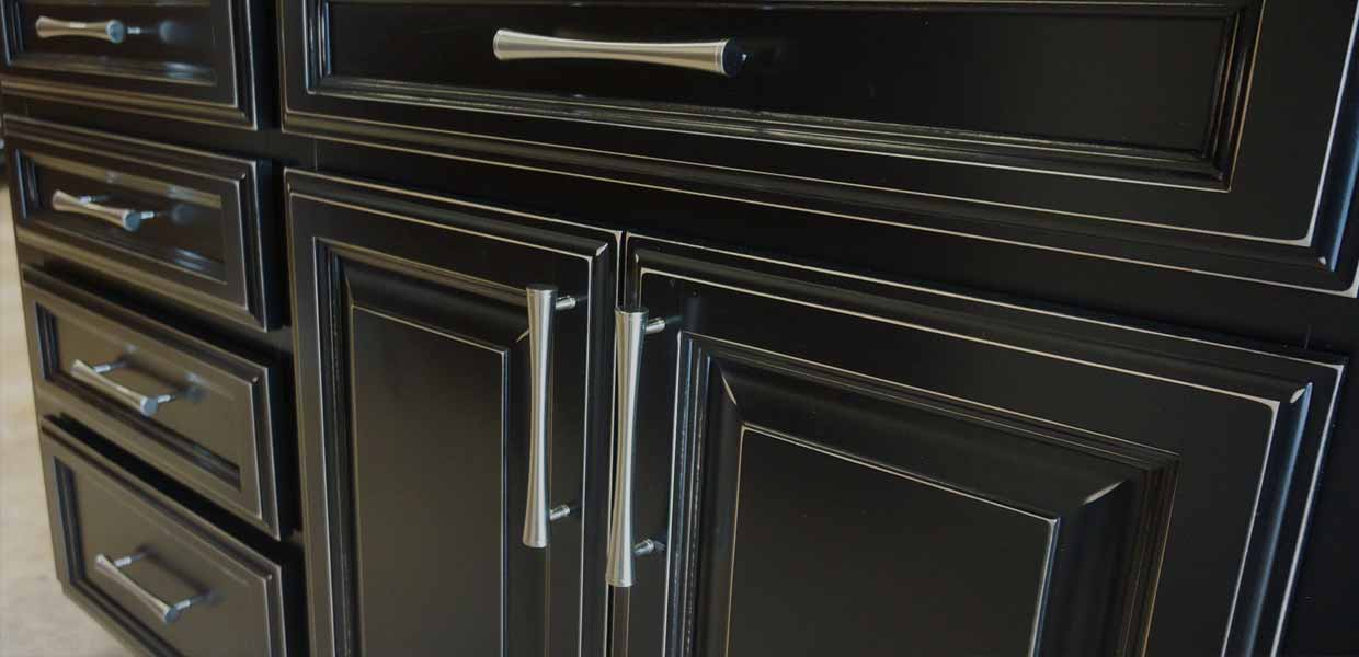 Dark Cabinet Refacing Outside The Box