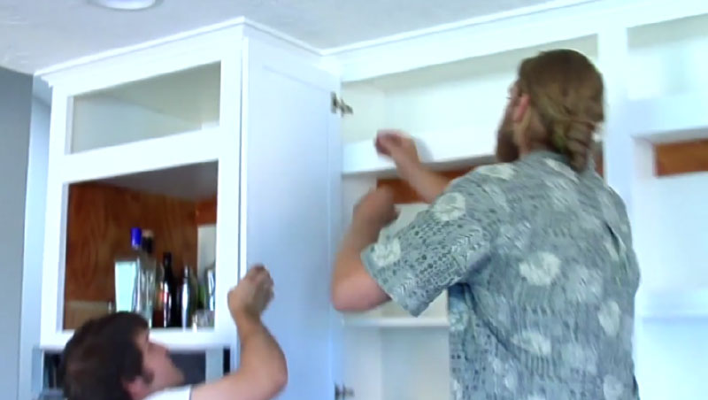 how to hang your cabinet doors