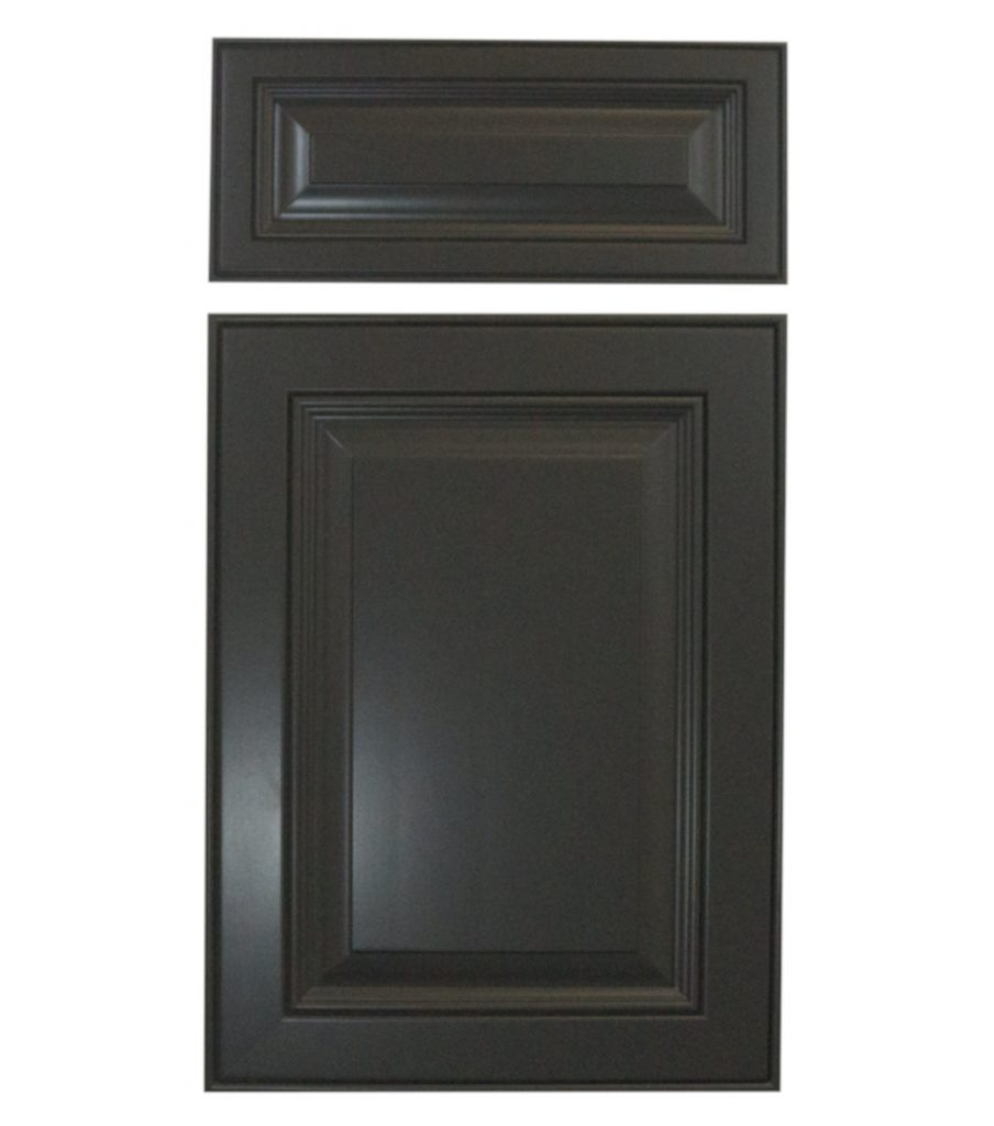 Tinted lacquer is always a great choice for your kitchen cabinet doors