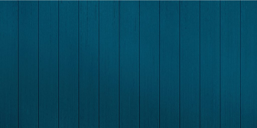 Blue painted shiplap boards