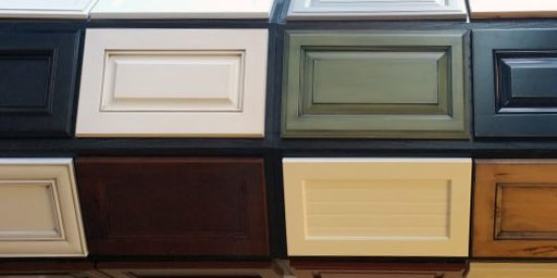 thousands of cabinet colors to choose from