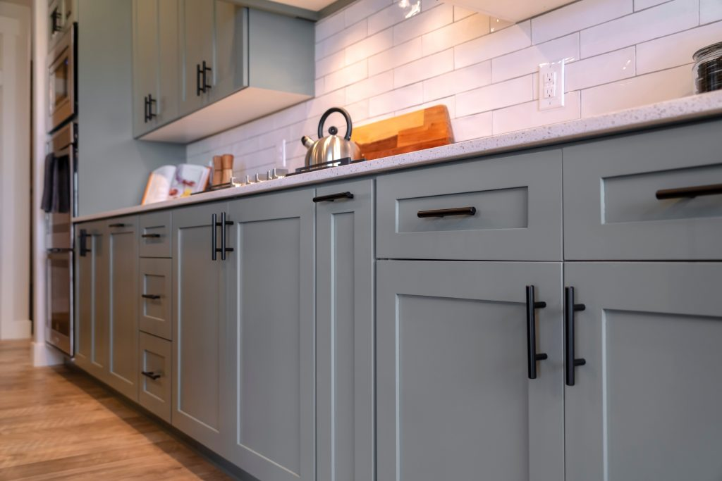 Example of Shaker style cabinet doors